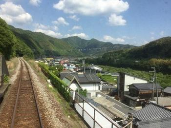 予土線十川の超こいのぼり.JPG