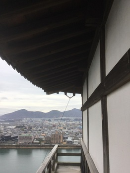 犬山城最上階手すり.JPG